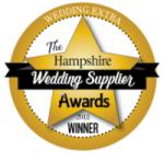 Hampshire wedding supplier awards badge