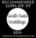 South Coast Weddings preferred supplier badge