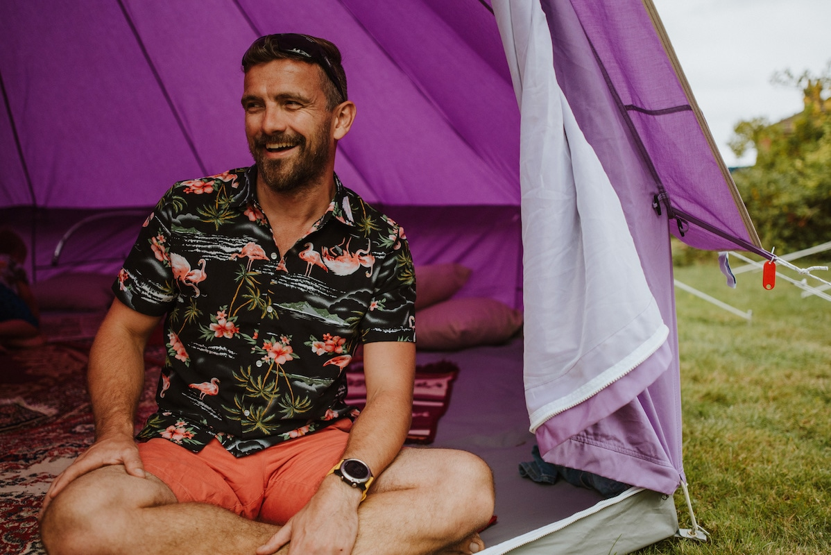 How to pack a bell tent away