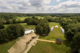 Bell Tent Wedding Glamping | Special Offer | Blacknest Golf and Country Club