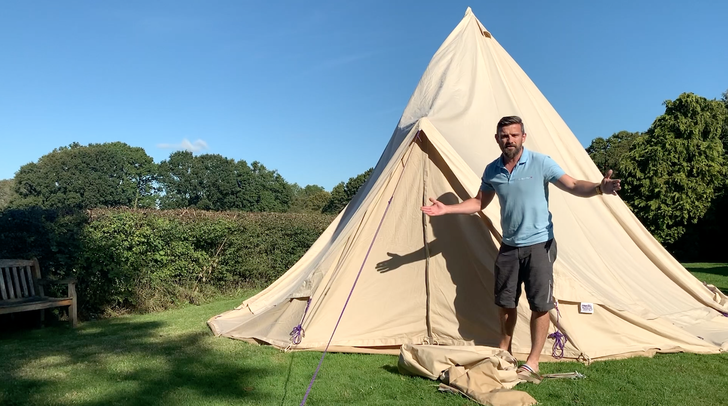 Camping Hacks | Glamping Hacks – Packing your bell tent away for the winter